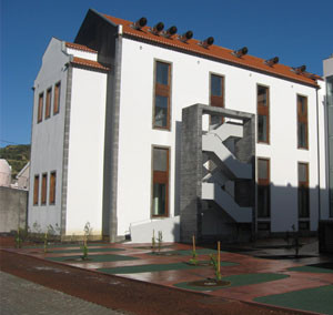 Remodeling of the Walter Bensaúde Hospital for the Department of Oceanography and Fisheries of the University of the Azores.