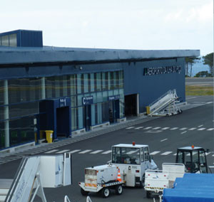 Cargo Warehouse at Pico Island Airport, Azores