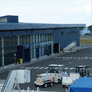 Armazém de Carga no Aeroporto da Ilha do Pico