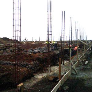 Construção do Centro de Resíduos da Ilha do Corvo