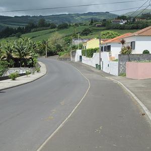 Rede viária e abastecimento de água no concelho da Horta